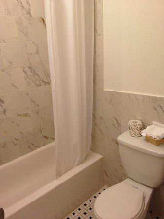 The Clay Hotel: Bathroom
