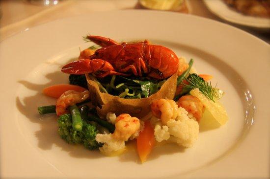 La Varangue : seafood for starter