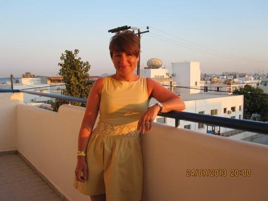 Cleopatra Classic Hotel: the view was greek the weather was special