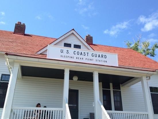 Glen Arbor, MI : us coast guard station