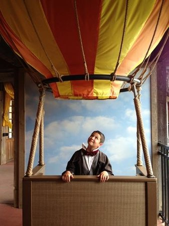 Conner Prairie Interactive History Park: ride in a real balloon!