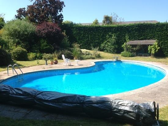 Bulleigh Barton Manor: the pool