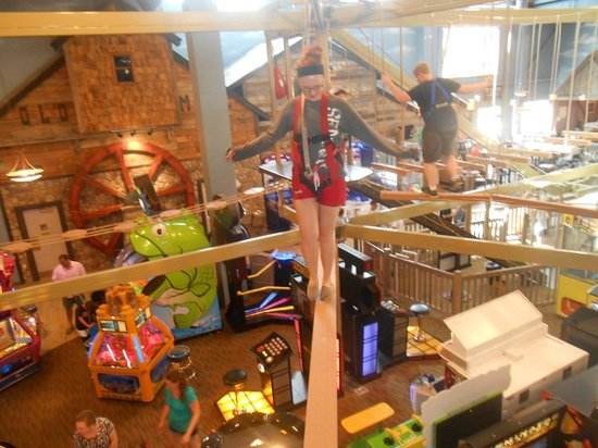 Wyndham Vacation Resorts Great Smokies Lodge: Ropes course