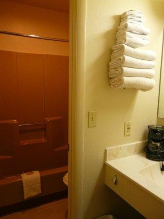 7 Mile Lodge : Baño