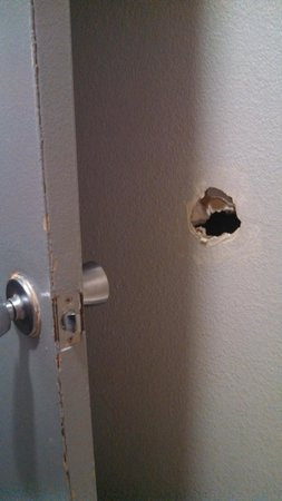 Super 8 - Fenton/St. Louis Area: bathroom wall