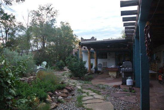 Rancho Gallina: The Garden Area