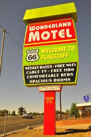 Wonderland Motel: Neón