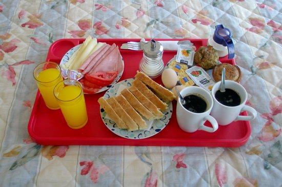 Akti Hotel: Room Service - Breakfast