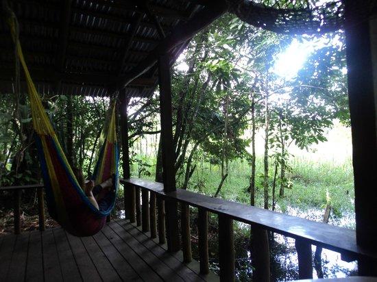 Hotel Casa Perico: Private cabin with hammock