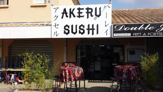 Akeru sushi