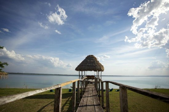 Camino Real Tikal: Muelle