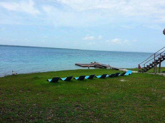 Camino Real Tikal: Playa del Hotel
