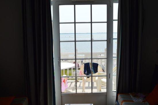 Pierre & Vacances Premium Residenz de la Plage: out to balcony