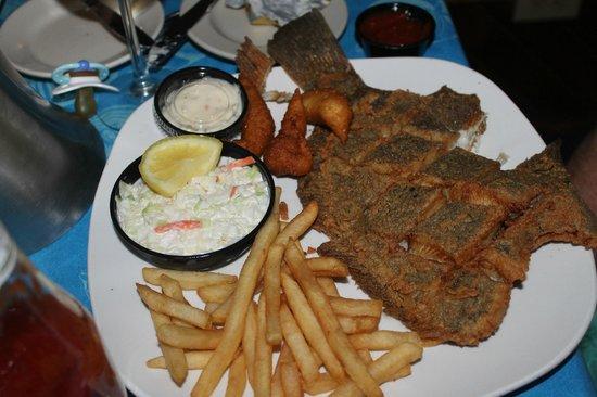 Turtle Island: Flounder yummy