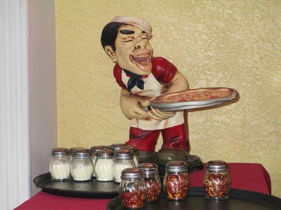 Petrillo's Italian Restaurant and Pizzeria : Happy Pizza Guy