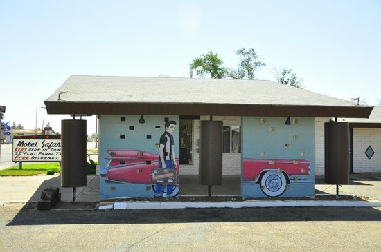 Motel Safari : Recepción
