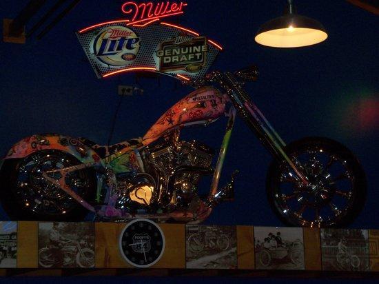 Custom Bike In The Bar Picture Of Poopy S Pub N Grub Savanna