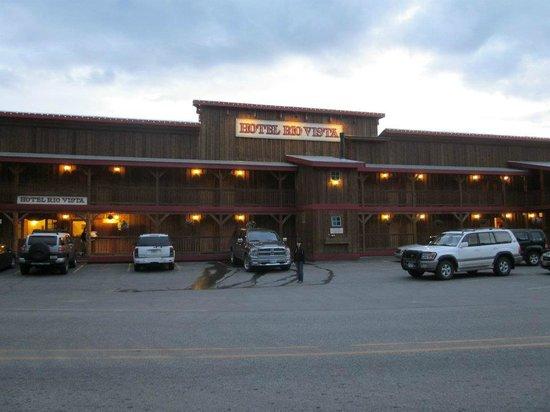 Hotel Rio Vista: The front
