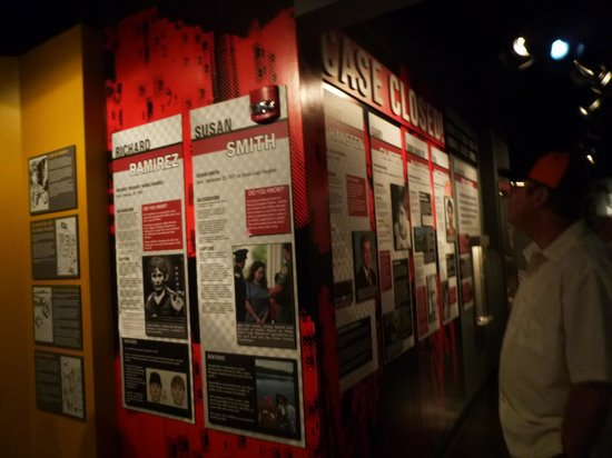 National Museum of Crime & Punishment: Photo Wall of Closed Cases