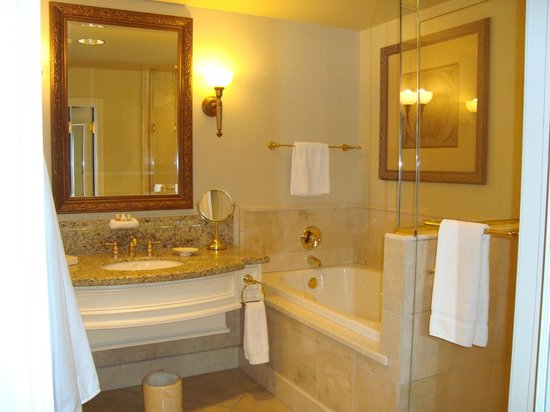 The Carlton Hotel : bathroom