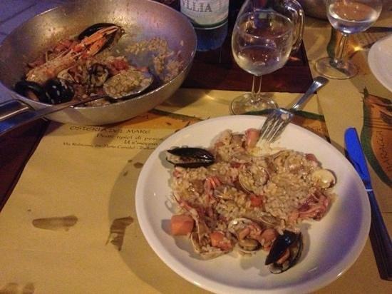 L'Ultima Spiaggia : risotto ai frutti di mare