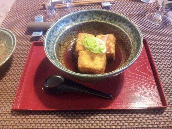 Kiozen: tofu grillé aux bouillons ( tres bon)