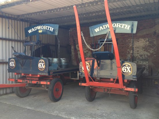 Wadworth Brewery: Wadworth Visitor Centre and Brewery