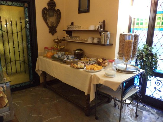 Hotel City: ontbijtbuffet