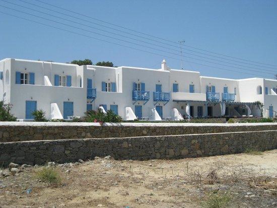 Hotel Erato : Erato from the beach