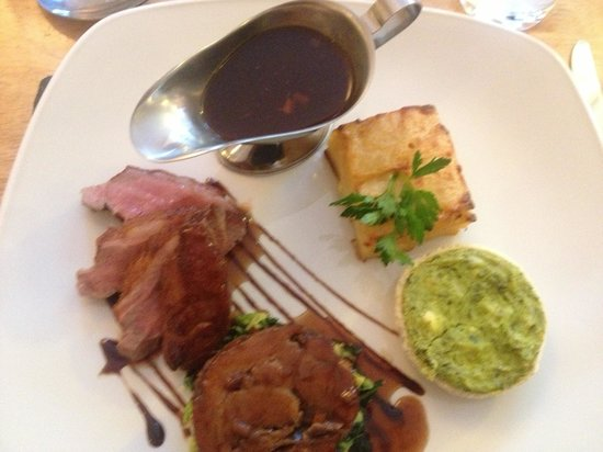 Memories restaurant: Lamb main :-)