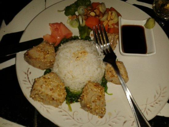 El Limbo on the Sea Hotel Restaurant : Un delicioso atún