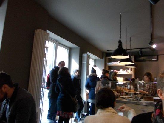 The Barn Cafe Deli: Interio