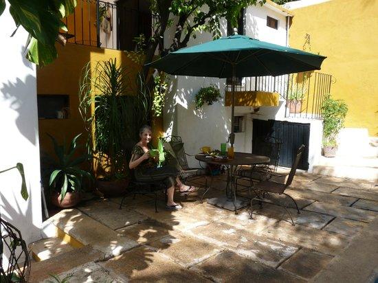 Luz En Yucatan: Morning Tea On Second Floor Terrace