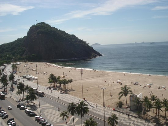 Windsor Leme Hotel: VISTA DA PEDRA DO LEME