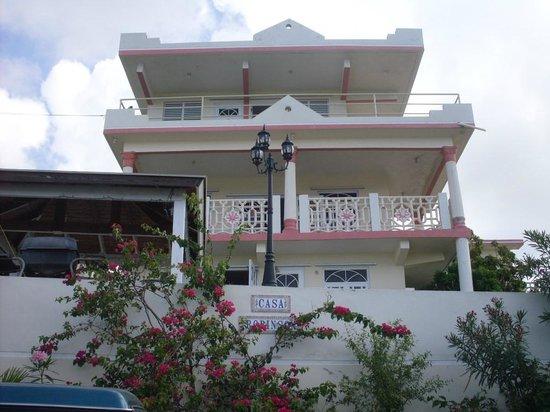 Casa Robinson: Vista El Frente