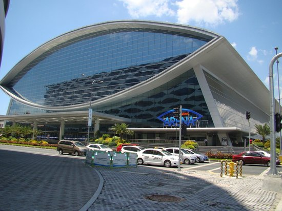 SM Mall of Asia Arena Facade ...