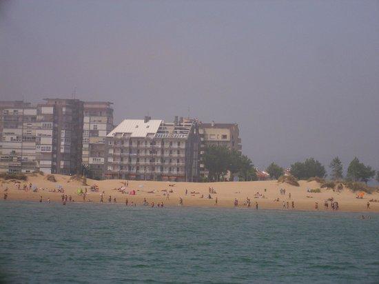 Aparthotel Playamar: El hotel desde alta mar