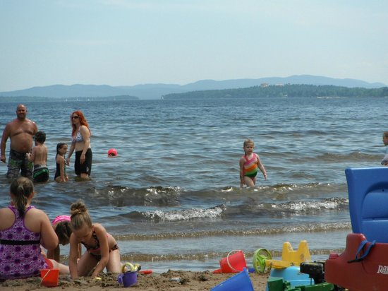 Plattsburgh City Beach : plattsburgh beach