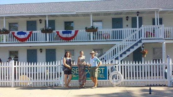 Seacoast Motel with family