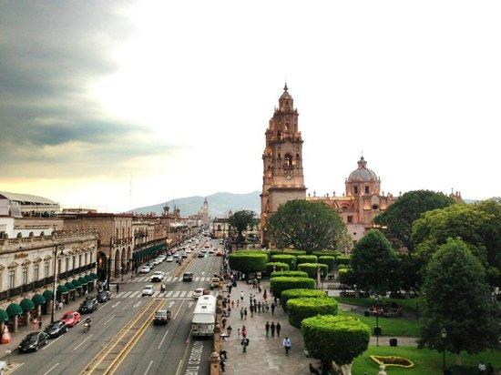 Hotel Virrey de Mendoza: Vista desde la terraza