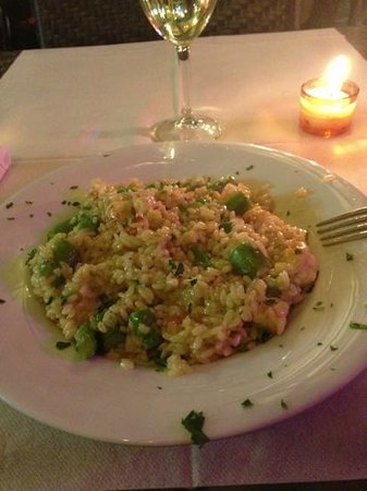 Ristorante Pizzeria Imperiale: ridotto asparagi e gamberi