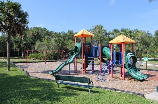Ormond Tomb Park: playground
