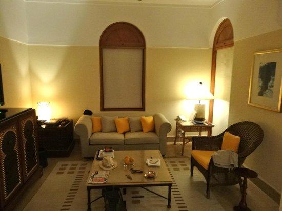 The Oberoi Sahl Hasheesh : espace salon lounge