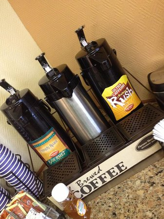 Best Western Corona : Coffee