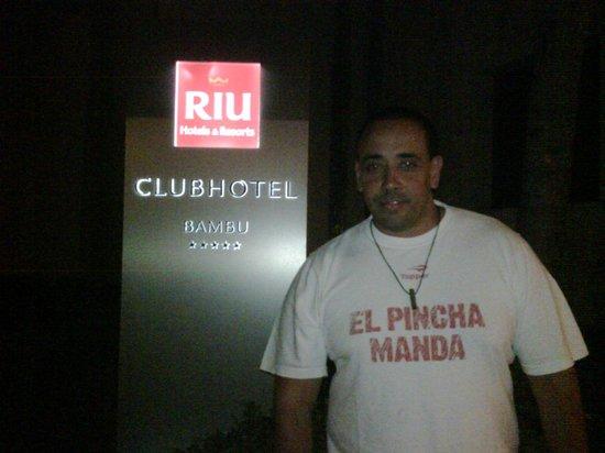 ClubHotel Riu Bambu: entrada