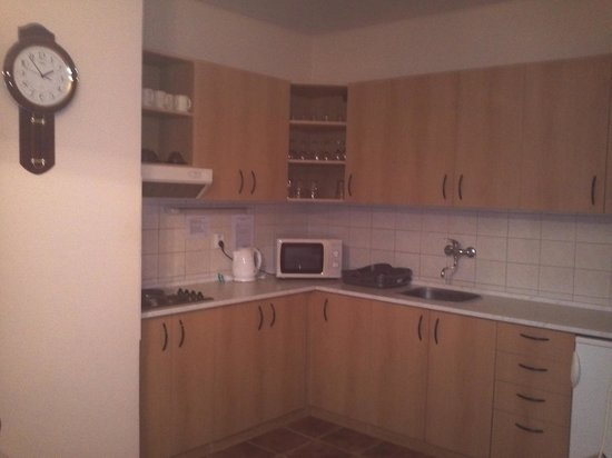 Aparthotel Lublanka: Kitchen