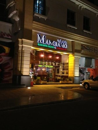 Mangiamo: The Entrance