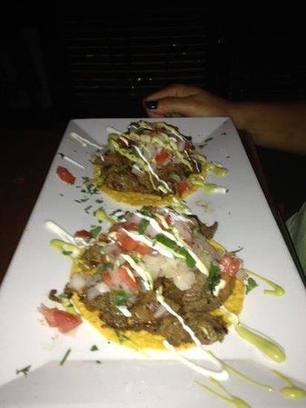 Latin House Burger and Taco Bar: Delicious tostadas