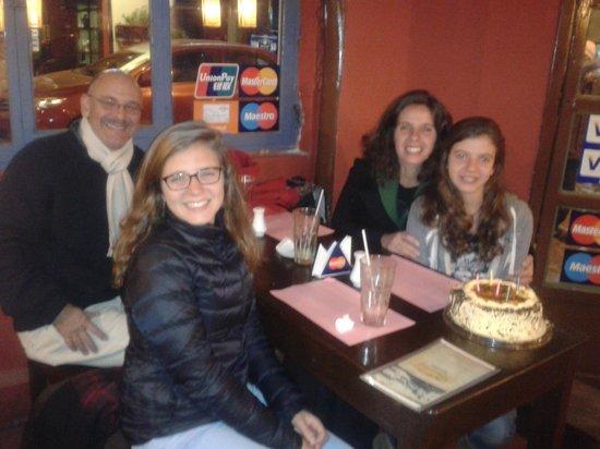 Panino Pizza Pasta y Vino: cumpleaños en paninos