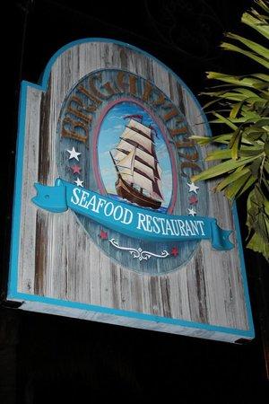 Brigantine Seafood Restaurant : Sign
